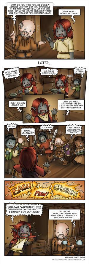 Morrowind: Criminal Justice