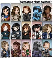 My Favorite Characters: Women