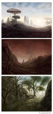 Morrowind Speedpaintings