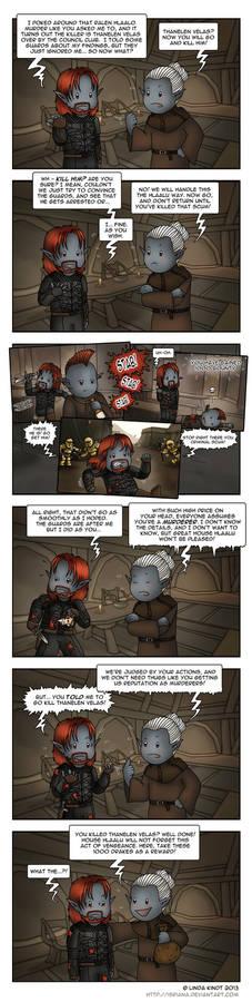 Morrowind: Consistency