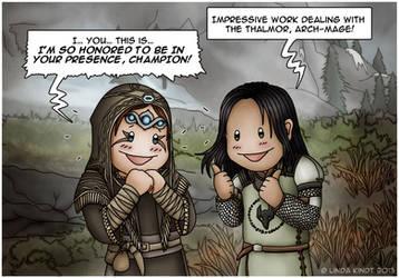 Amarei and Minerva