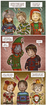 TES: Ugly Christmas Sweaters
