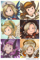 Mercy Icons by Isriana