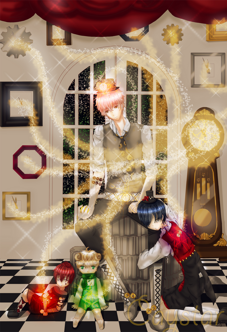 The Clock Maker by Caystar