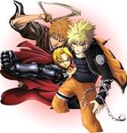 Naruto,Ichigo and Ed :D