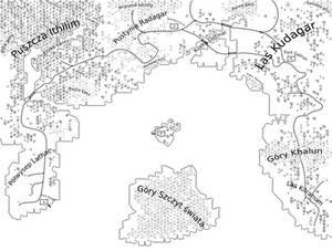 Dolina przekletych - mapa
