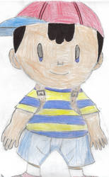 Ness by drawingamileaminute