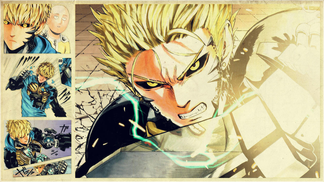 one punch man genos - photo #39