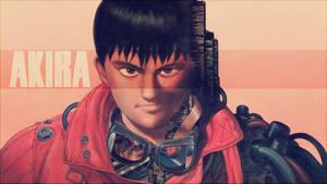 Akira - ''Kaneda'' (Wallpaper 01)