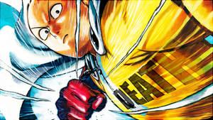 One-Punch Man - ''Saitama'' (Wallpaper 02) by Dr-Erich