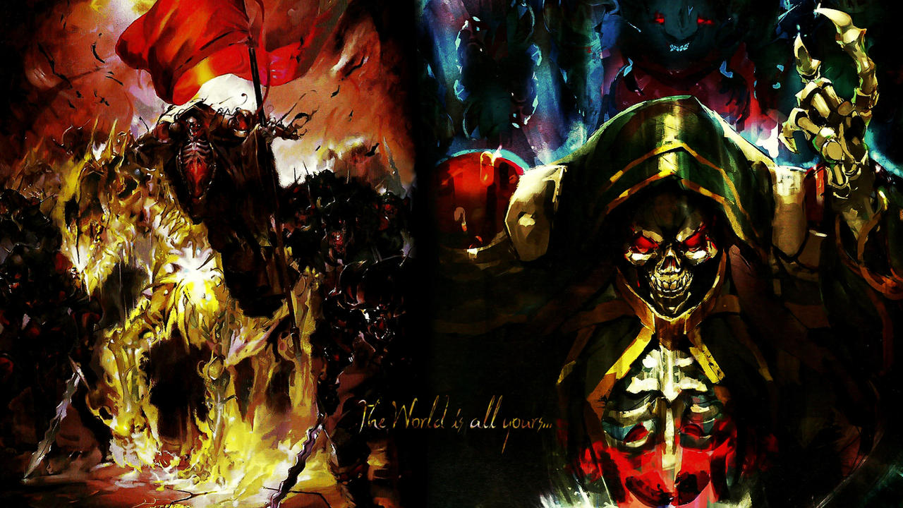 Overlord Ainz Ooal Gown Wallpaper 01 By Dr Erich On Deviantart