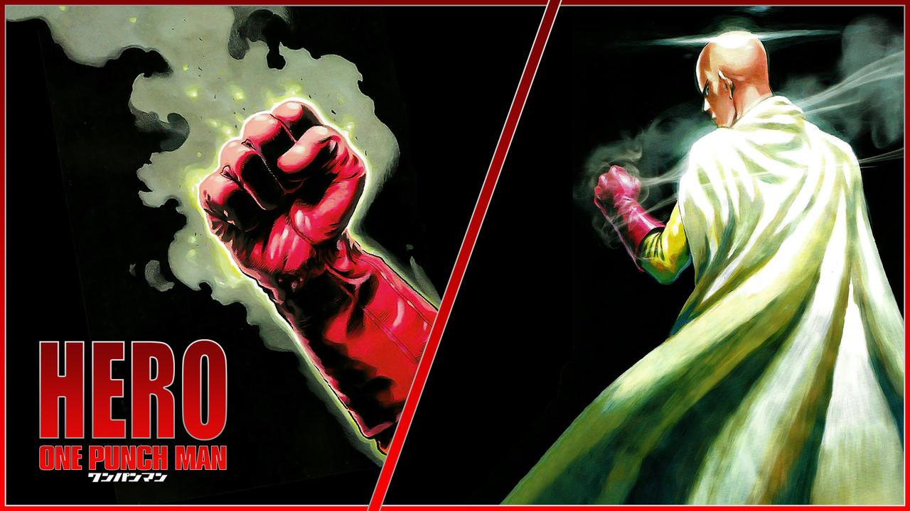 One Punch Man Saitama Wallpaper 03 By Dr Erich On Deviantart