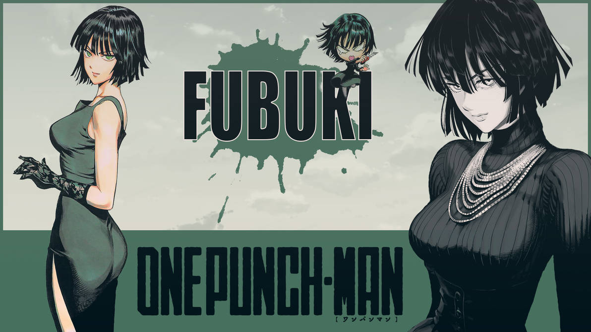 One Punch Man Fubuki Wallpaper 01 By Dr Erich On Deviantart