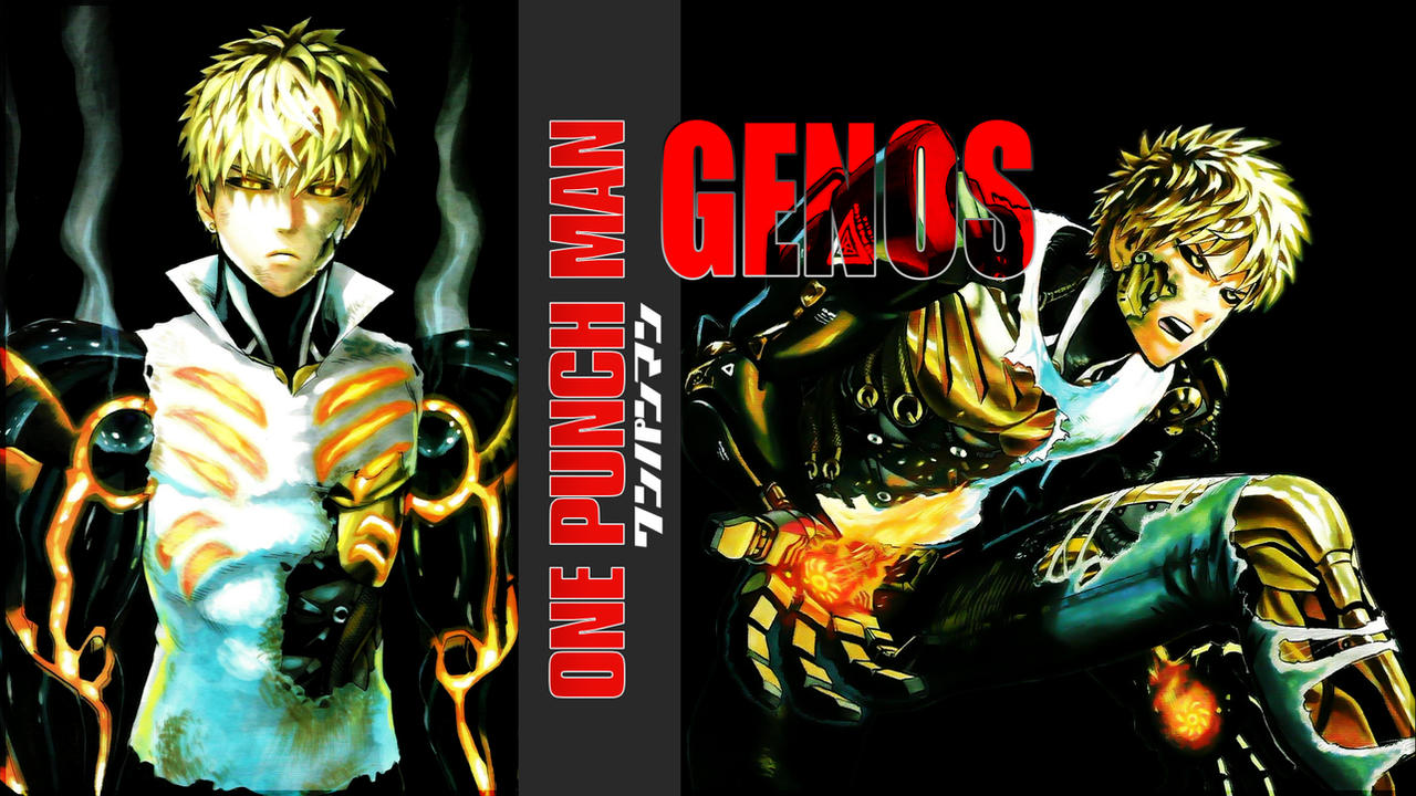 One Punch Man Genos Wallpaper 02 By Dr Erich On Deviantart