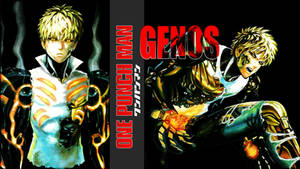 One-Punch Man - ''Genos'' (Wallpaper 02) by Dr-Erich