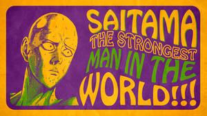 One-Punch Man - ''Saitama'' (Wallpaper 05) by Dr-Erich