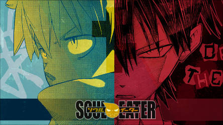 Soul Eater - ''Black and Death'' (Wallpaper 01)