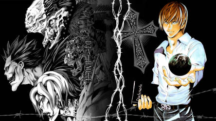 Death Note - ''Light Yagami'' (Wallpaper 02)