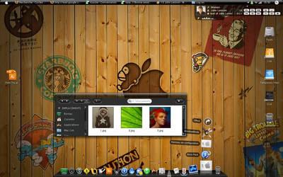 My desktop April 2008 by CokCok