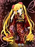 Shinku en Kimono