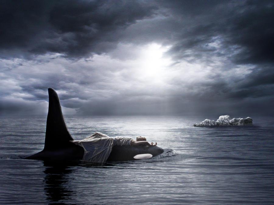 Lost in the ocean by sasha-fantom