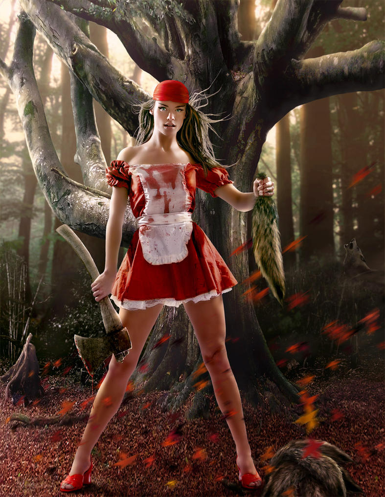 Red tale by sasha-fantom