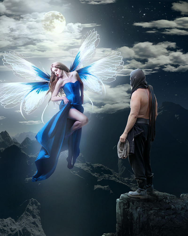 The Blue Bird by sasha-fantom