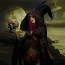 Witch by sasha-fantom