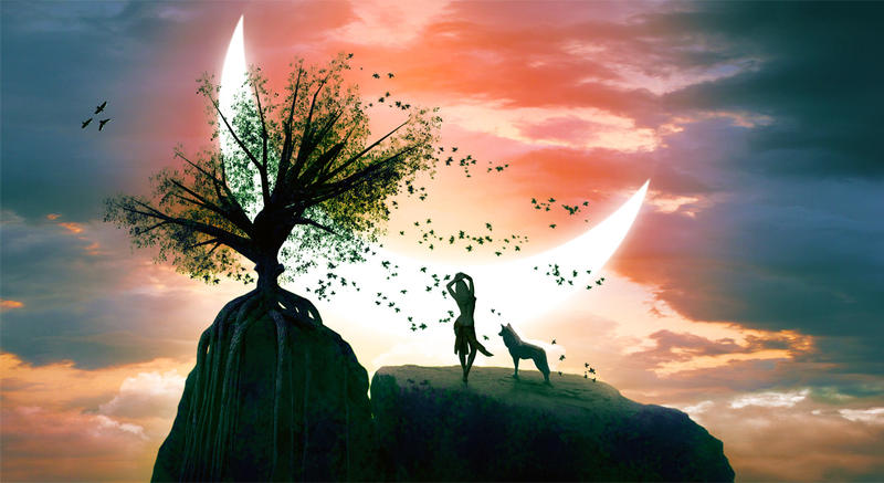 Moon dance by sasha-fantom