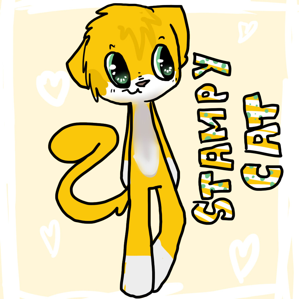 Stampy cat by lucarishay digital art drawings paintings other 2014