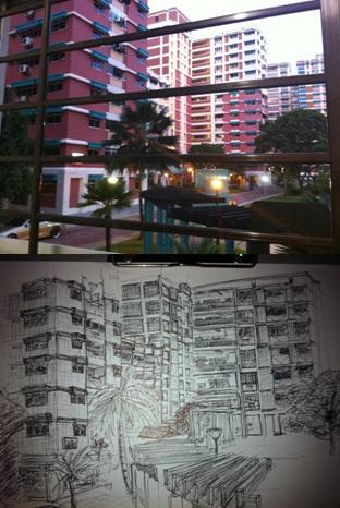 sketch of my housee =p by dragonite838
