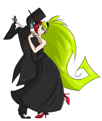 black waltz
