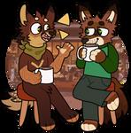 Emmanuel and Pepper Fullbody (commission)