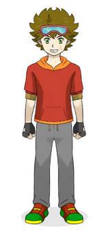 Digimon RUSH: Takeru Akagami