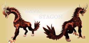SPORE Creature - Lava Stagon