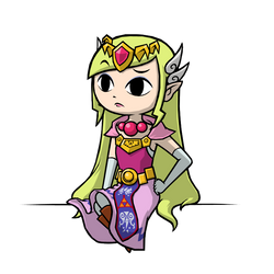 Commission - Princess Zelda