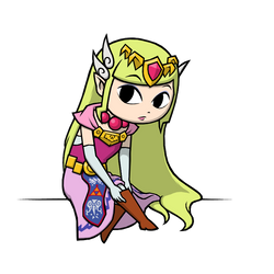 Commission - Princess Zelda 2