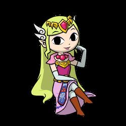 Commission - Princess Zelda 3