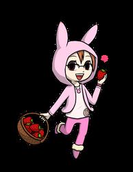 Commission - Mari's Strawberry Harvest