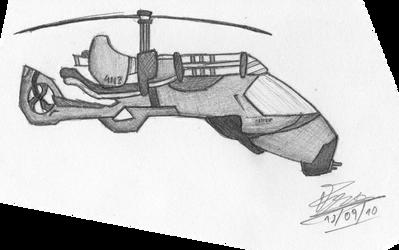 Stealth Helicopter V2 by LaMmInGFoRcE on DeviantArt