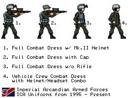 [JG] Arcand - Modern ICA Infantry by EddieKenz