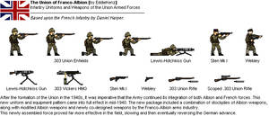 [JG] FAU (Franco-Albion Union) Infantry