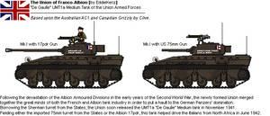 [JG] `De Gaulle` UMT1a Union Medium Tank Mk.I