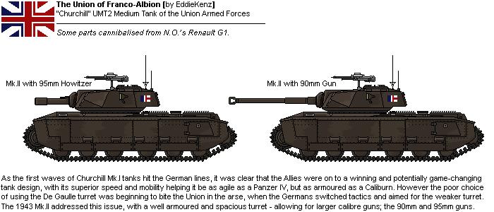 [JG] `Churchill` UMT2 Mk.II Medium Tank by EddieKenz