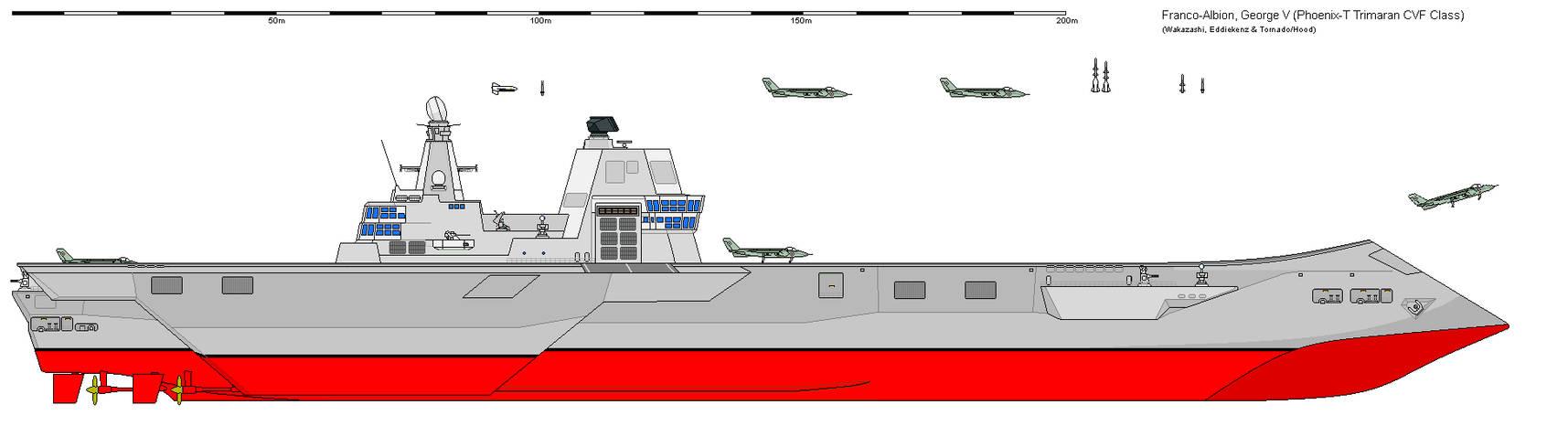 [SB] 'George V' Phoenix-T Class Trimaran Carrier