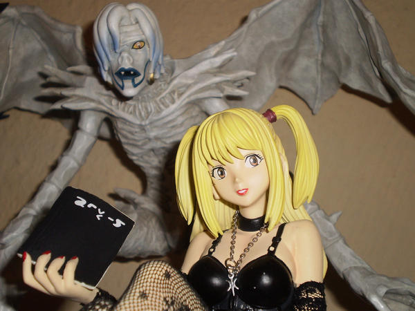 death note misa and rem - photo #7