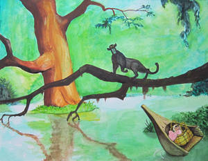 How To Piant The Jungle Book in Watercolor