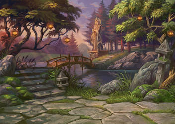 Gardens by gugu-troll
