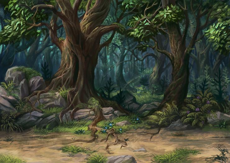 Forest by gugu-troll