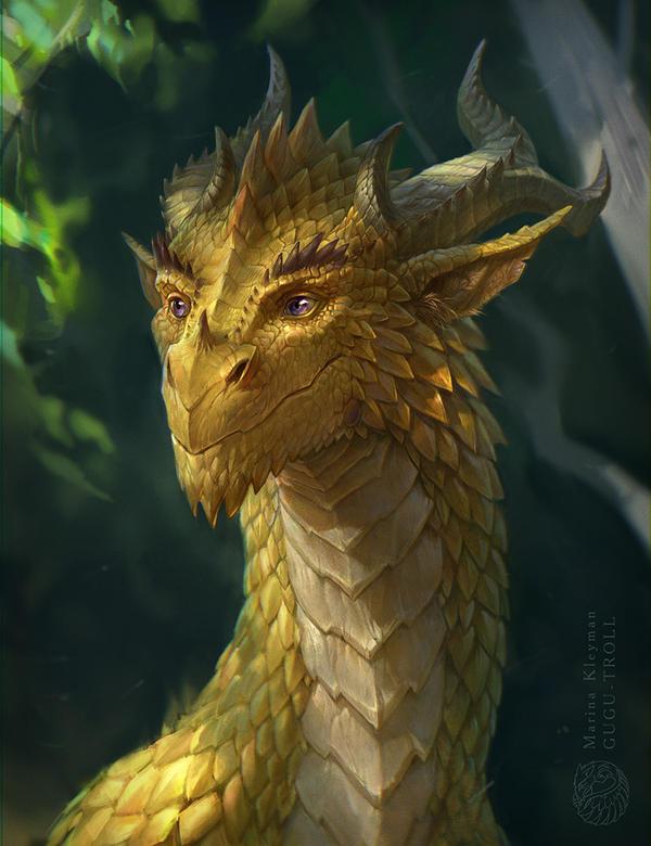 Sunny dragon by gugu-troll